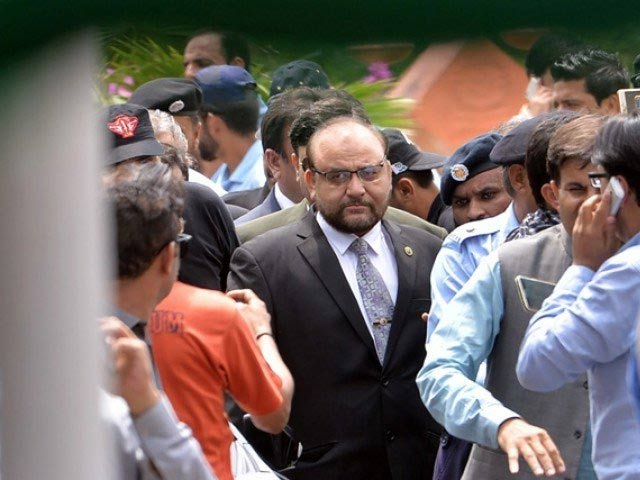 Joint Investigation Team (JIT) head, Wajid Zia PHOTO: FILE