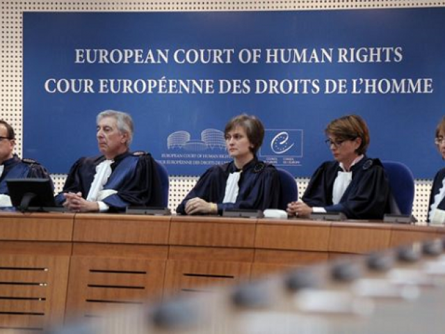 The European Court of Human Rights (ECHR) judges. PHOTO: AFP