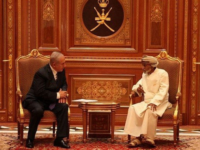 HM Sultan receives Israeli PM Benjamin Netanyahu in Oman