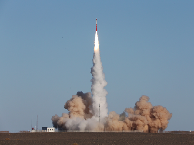 In China failed launch of commercial rockets