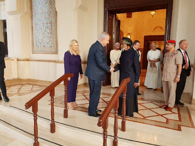 Netanyahu Is 1st Israeli Leader To Visit Oman Since 90s