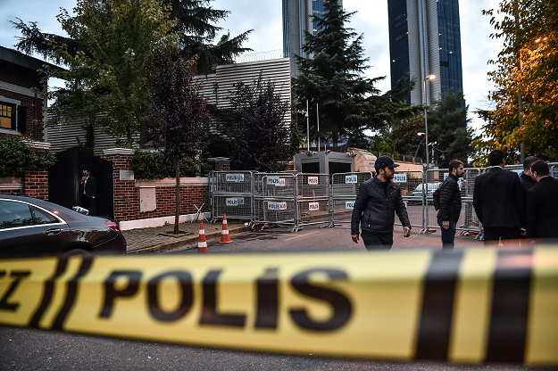Turkish official: Police found evidence of Khashoggi slaying