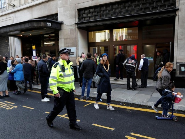 Two wounded in machete attack at Sony Music headquarters in London