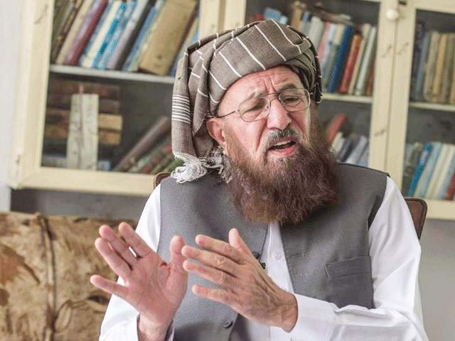 Condolences pour in after Maulana Samiul Haq's assassination