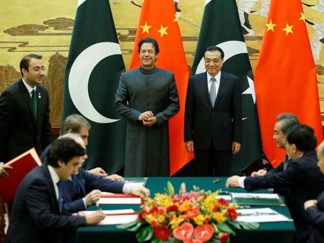Both countries sign 15 agreements and MoUs in diverse fields. PHOTO: REUTERS