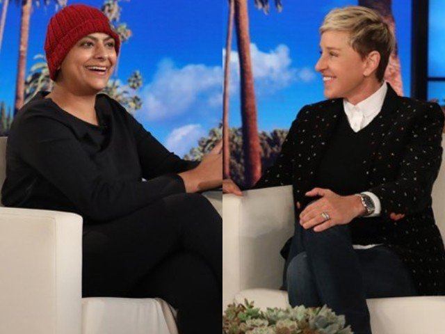 Pakistani chef Fatima Ali appears on 'The Ellen DeGeneres Show'