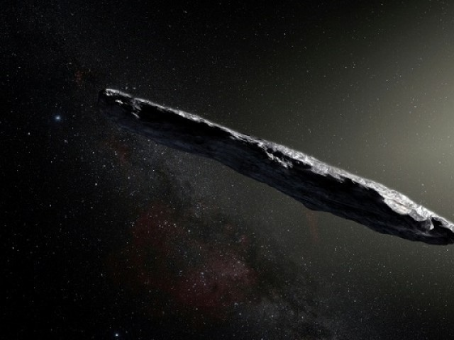 Is interstellar object 'Oumuamua an alien space probe?