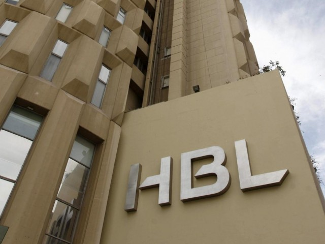 The Habib Bank Limited (HBL) logo is seen on the head office building in Karachi, Pakistan. PHOTO: REUTERS