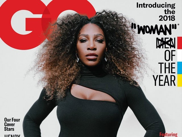 Serena Williams named GQ Woman of the Year - but cover sparks controversy
