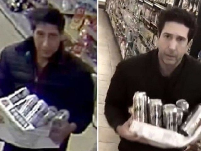 Police arrest 'Ross from Friends' lookalike over beer theft