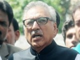 President Arif Alvi. PHOTO: FILE