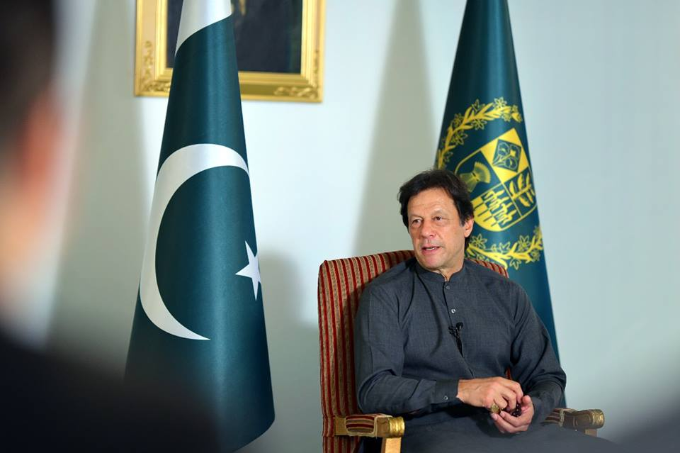 PM Imran Khan. PHOTO: PID