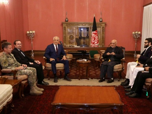 USA  envoy hopes for peace deal with Taliban
