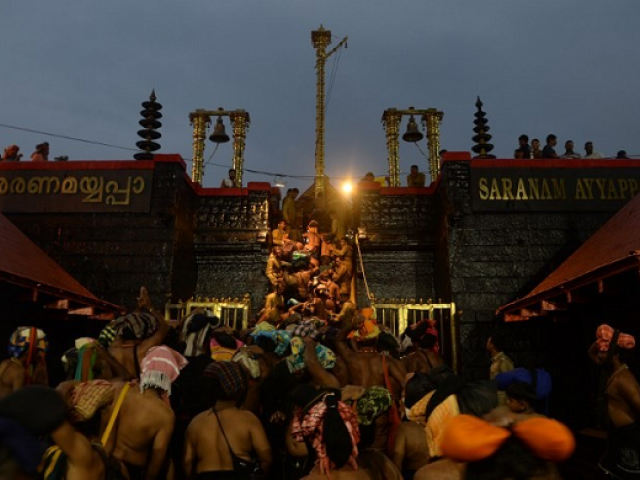 Congress-led opposition to intensify stir over Sabarimala