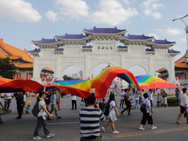 Taiwan's top court legalised gay marriage in May 2017 and ruled that it must be brought in within two years