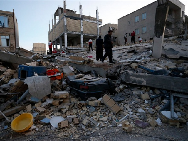 Iran natural disaster: 6.3 tremor strikes on Iraq border - deaths expected