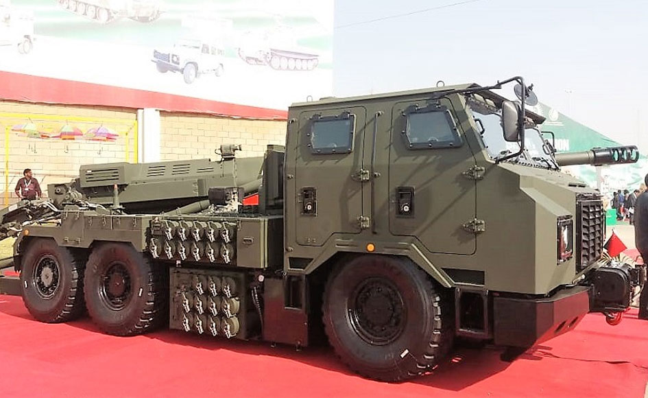 Chinese SH15 self-propelled howitzer. -Photo by author