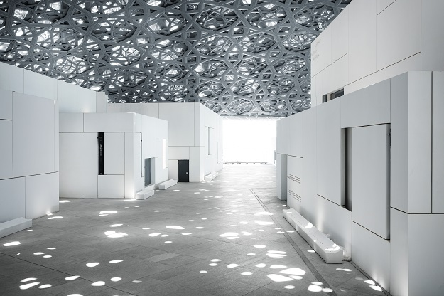Louvre Abu Dhabi's 'rain of light'. PHOTO: MOHAMED SOMJI via LOUVRE ABU DHABI