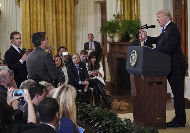 Trump Says Jim Acosta Video 'Wasn't Doctored'