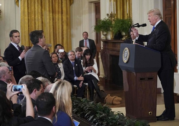 White House suspends CNN's Jim Acosta