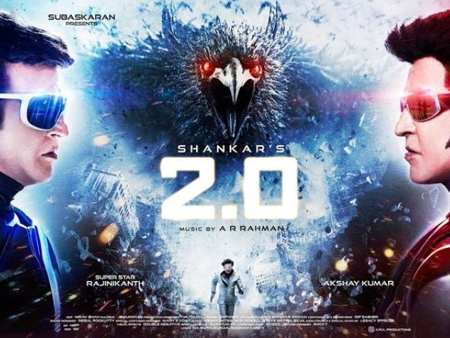 '2.0' records two-day box office collections of Rs 109 crore