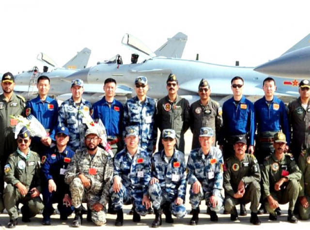 Shaheen VI was held at a Chinese airbase last year.  PHOTO: RADIO PAKISTAN
