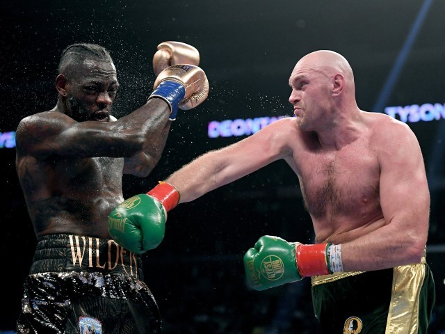 Fury vs Wilder draw 'ludicrous' blasts Tyson's brother