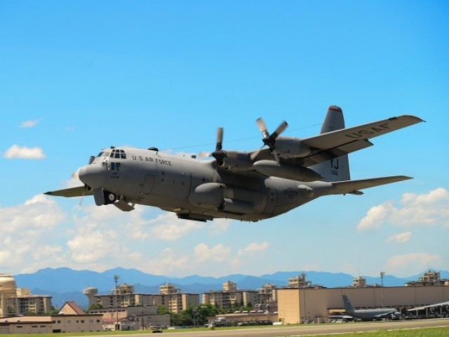 US military planes crash while refueling off Japan