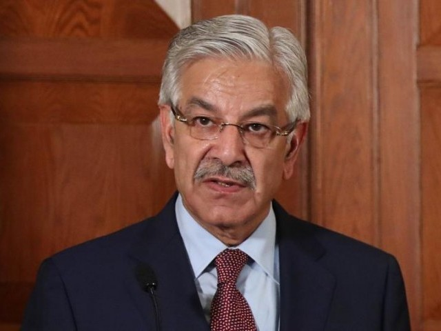 Khawaja Asif, PHOTO: AFP