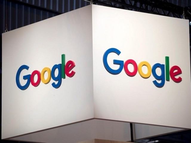 The logo of Google is pictured. PHOTO: REUTERS