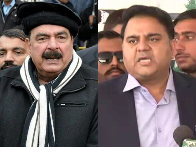 Railways minister claims PM Imran had offered him to join information ministry. FILE PHOTOS