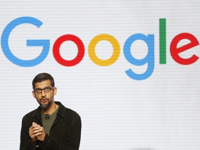 Google Search Results for 'Idiot' Gives Trump; Google CEO Face Questioning