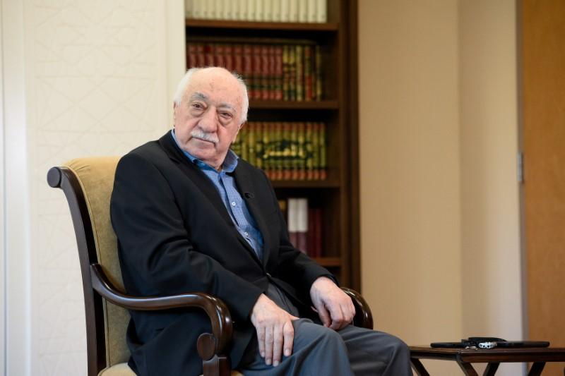 US-based Turkish cleric Fethullah Gulen at his home in Saylorsburg, Pennsylvania, US. PHOTO: REUTERS
