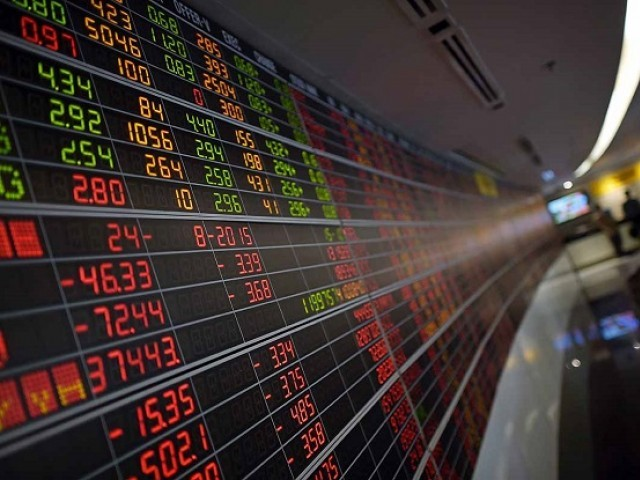 Benchmark index increases 1.51% to settle at 38,585.66. PHOTO: AFP
