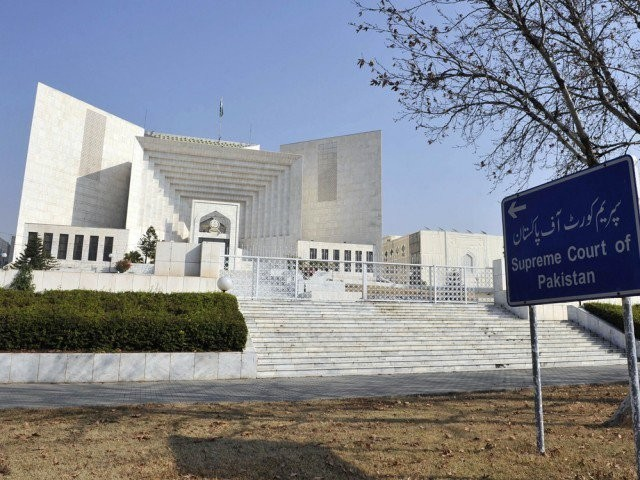 Supreme Court of Pakistan. PHOTO: FILE