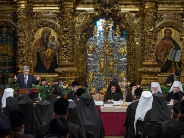 Russian Orthodox church calls on United Nations for help in Ukraine