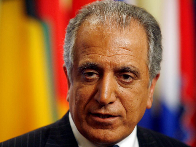 Zalmay Khalilzad. PHOTO:REUTERS