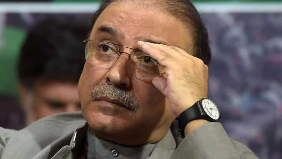 Asif Ali Zardari. PHOTO: AFP
