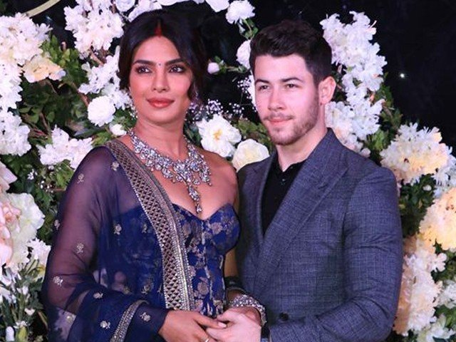 Priyanka and Jonas host second wedding reception in Mumbai