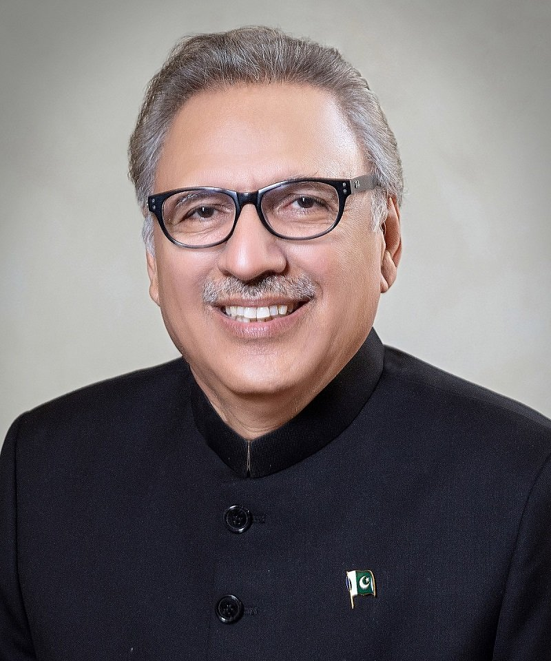 President Arif Alvi. PHOTO: PID