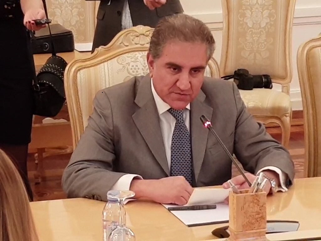 Qureshi Had 'Productive Meetings' With Afghan Leaders