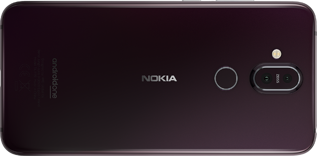 Nokia 8.1 - Iron Steel - Back