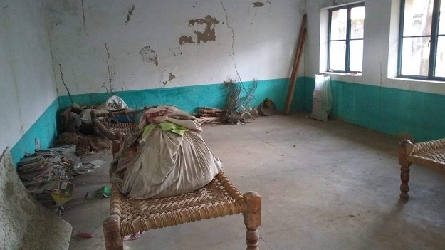 Inside the Garo girls primary school. PHOTO:EXPRESS