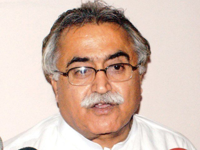 A file photo of Maula Bux Chandio. PHOTO: FILE