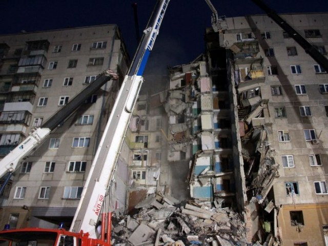 Russian building collapse death toll rises