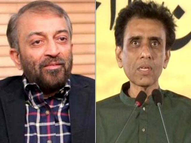 Farooq Sattar and Khalid Maqbool Siddiqui. PHOTOS: FILE