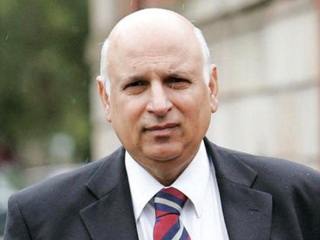 Chaudhry Muhammad Sarwar. PHOTO: FILE