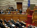 greek-alternate-minister-of-foreign-affairs-george-katrougalos-addresses-lawmakers-during-a-parliamentary-session-on-a-name-change-agreement-with-neighbouring-macedonia-in-athens