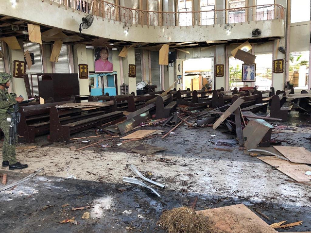 Muslim leader condemns Philippines bombings