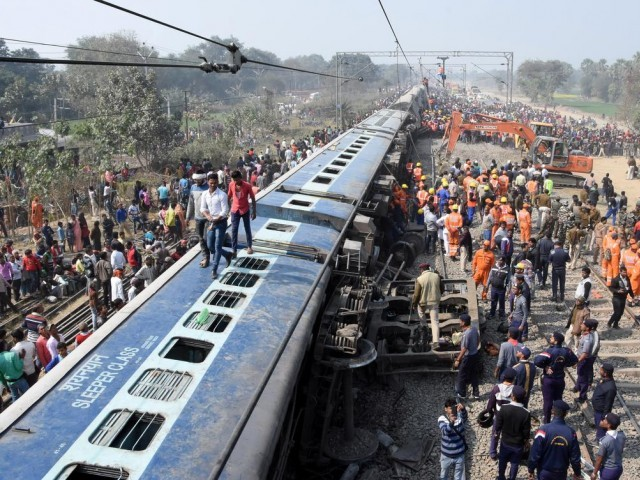 Death toll from train crash in northeastern India rises to 8